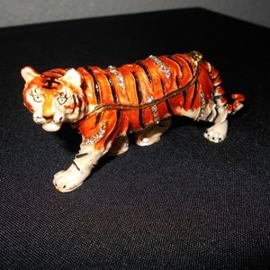 Mini Tiger Jewelry Box